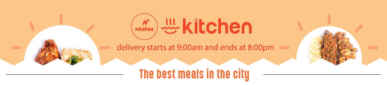 Nkataa Kitchen Meals