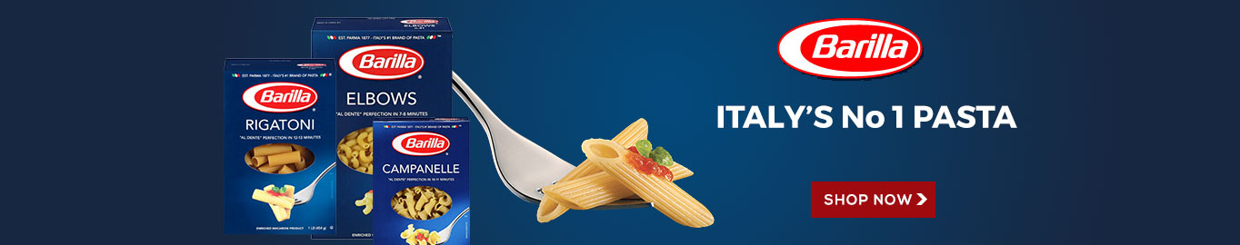 Barilla Pasta. Italy's Finest