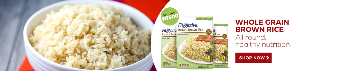Fit and Active Brown Rice