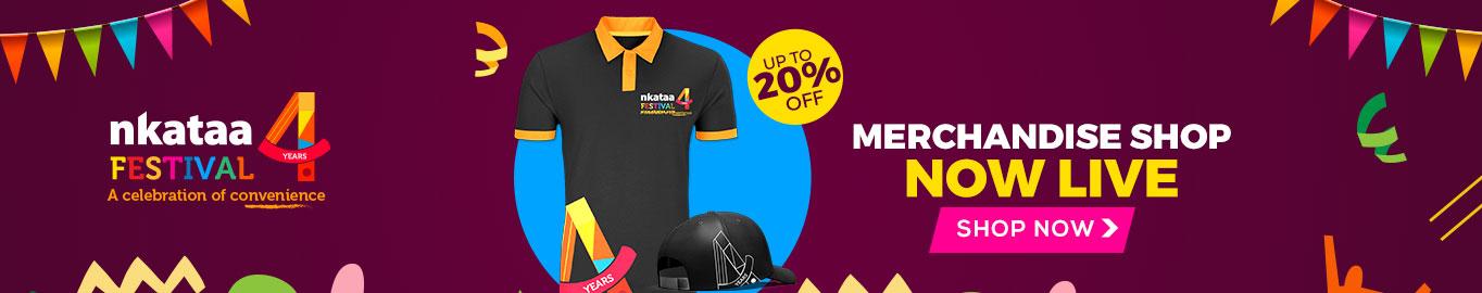 The Nkataa Merchandise Shop