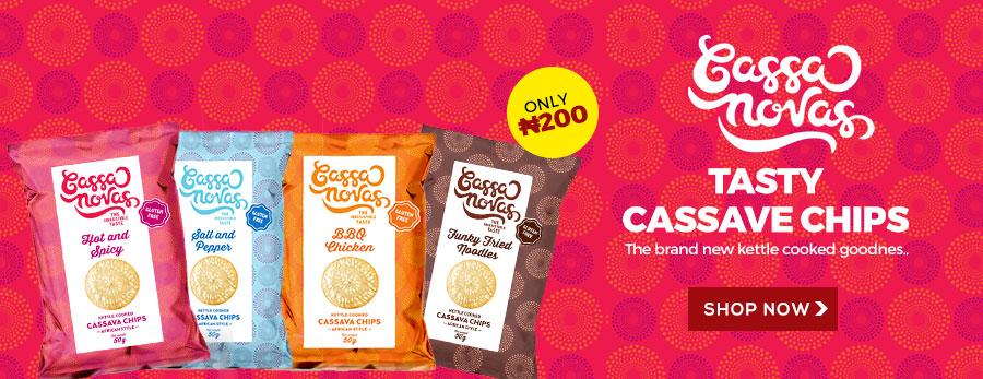 Cassanovas Cassava Chips