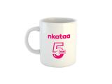 Nkataa @ 5 anniversary Mug - White