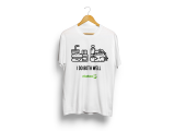Nkataa @ 5 Anniversary Short  Sleeve T-Shirt -I Do Both Well  (White)