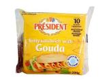 President Tasty Sandwich With Gouda - 200g