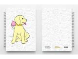 Oledo Children's Journal - Puppy With Pink Bowl