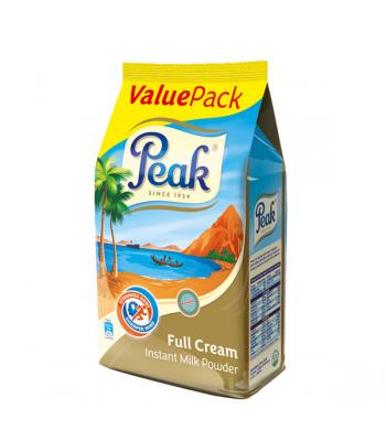 Peak Full Cream Instant Milk Powder Refill Pack (850g)