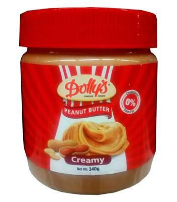 Dollys Peanut Butter Creamy - 340g