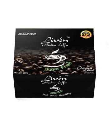 Liven Alkaline Coffee Sugar Free - 300g