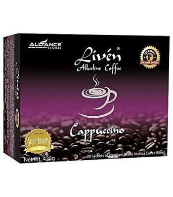 Liven Alkaline Coffee Cappuccino - 420g