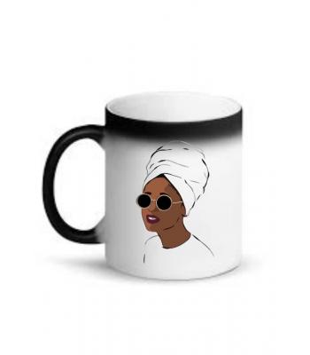 Mug (African Woman Wearing A Turban)