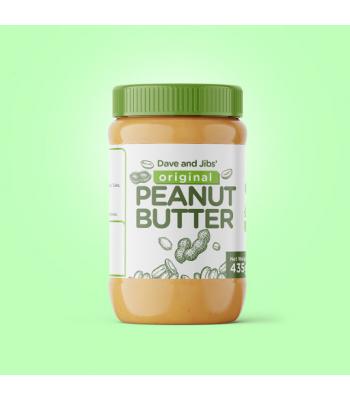 Dollys Peanut Butter Crunchy - 340g